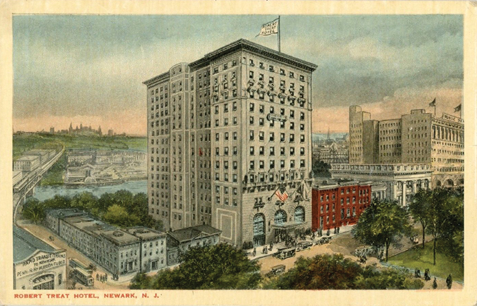 The Tale Of Two Hotels Robert Treat And Military Park